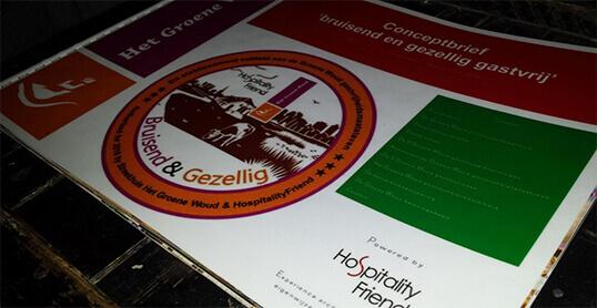 hospitality friend concept ontwikkeling